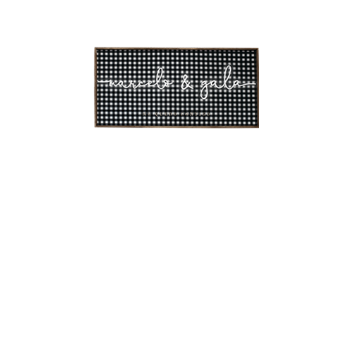 Caja de luz vichy