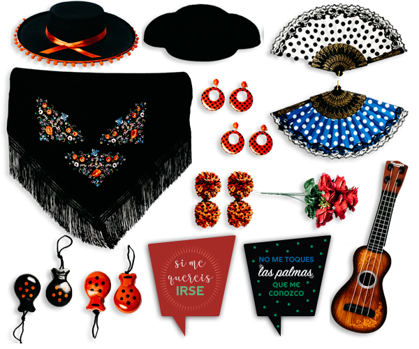 Pack Atrezo Flamenco